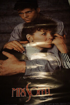 Mrs Soffel Mel Gibson Diane Keaton rolled theatrical poster 1980's vtg movie