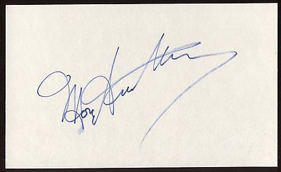 Catherine Deneuve Signed Index Card Signature Autographed Auto Cards & Papers Autographs-original