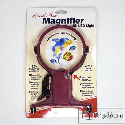 SEW EASY - Hands Free Magnifier with LED Light