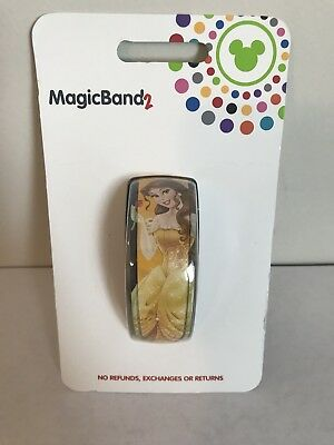 NEW Disney World Belle MagicBand 2 Beauty and the Beast Yellow Magic Band 2.0