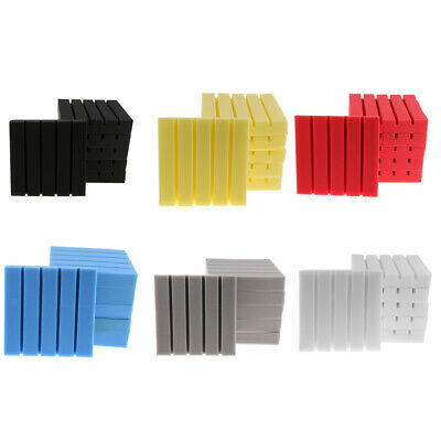 Pack of 6 Sound-absorption Acoustic Foam Panel Sound Proof Sponge