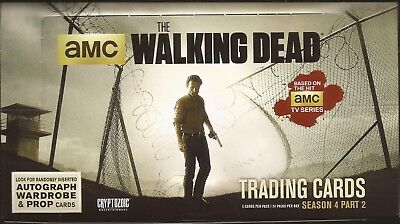 Cryptozoic The Walking Dead Season 4 Part 2 Box of 24 Packs Sketch autographs ?