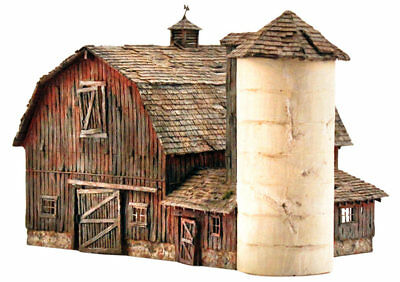 Woodland Scenics - Rustic Barn - Landmark Structures® -- Kit - N