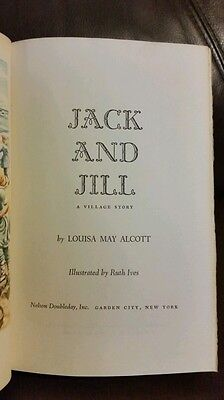 Vintage 1956 Jack And Jill Book By Louisa May Alcott