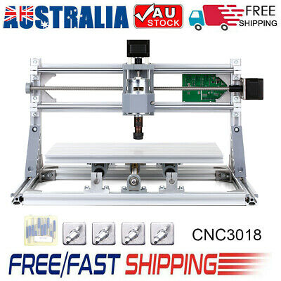 CNC3018 DIY CNC Router Kit 2-in-1 Engraving Machine GRBL Control 3 for Engraving