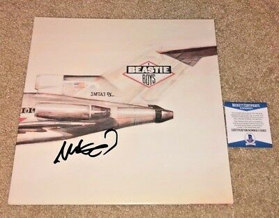 Mike D Signed Beastie Boys Licensed To Ill Vinyl Album Adam Ad Rock Book Bas