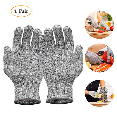 Dyneema Cut Resistant Gloves Level 5 Protection Food Grade Kitchen Work Gloves