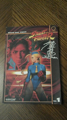 Signed Udon Street Fighter Round One: FIGHT! Volume 1 Graphic Novel