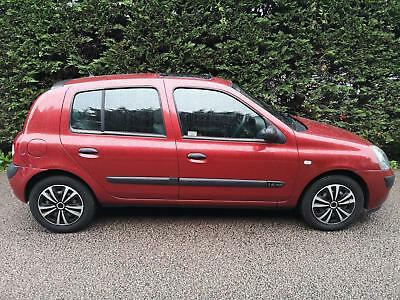2004 Renault CLIO EXPRESSION 16V Automatic Hatchback