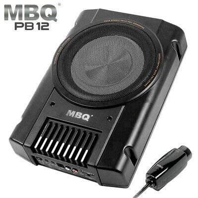 "MBQ PB-12 150W 10"" Super Compact Bass Enclosure Active Sub Woofer Subwoofer"