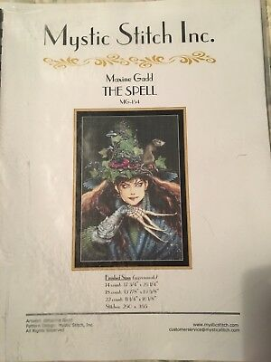 Mystic Stitch Inc - Counted Cross Stitch Chart / Pattern Book - The Spell