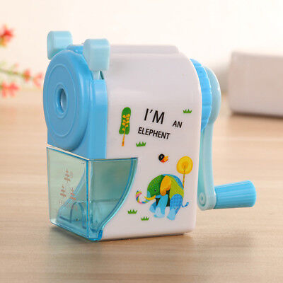 Rotary Pencil Sharpener Cartoon Helix School Students Artists Office Workers