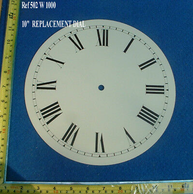 12 Inch Dial face for Fusee Dial / American Wall Clock with winding holes