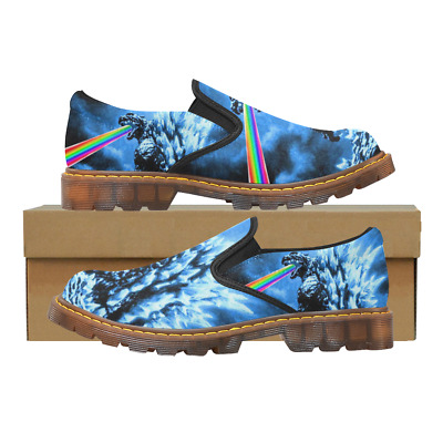 New Coming Custom Womens Slip On Loafer Godzilla Shoes Comfy Ladies Casual Flats