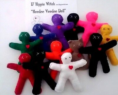 VOODOO DOLL Wicca Witchcraft Poppet Hoodoo Magic Ritual Spell Voodoo Pagan Curse