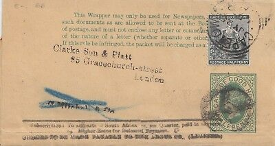 Cape of good hope: Wrapper to London