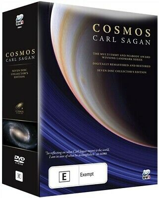 Carl Sagan - Cosmos (Digitally Remastered - 7 DVD Boxset) NEW