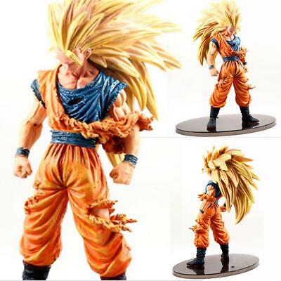 Anime Dragon Ball Z Super Saiyan Son Goku 3 Figurine En PVC à collectionner jeux