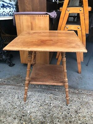 Antique Oak Arts And Crafts Occasional Side Table Liberty's And Co 19th Century