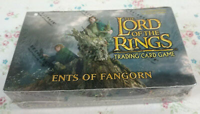 LORD OF THE RINGS TCG Ents of Fangorn 36 Booster Packs Box! NEW! SEALED!