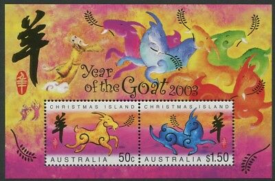 Year Of The Goat 2003 - Mnh Minisheet (Bl328-Rr)