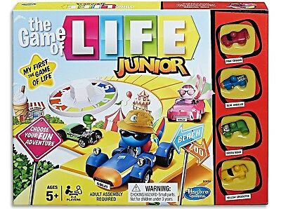 The Game of Life - Junior - Kids Board Game NEW in BOX Free Delivery CHEAP