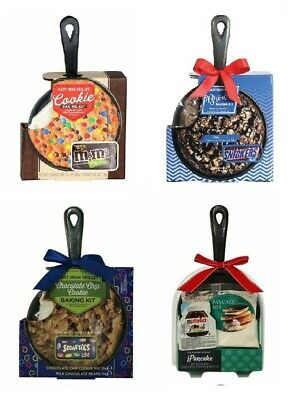 Treat Co. Brownie Baking Kit Cast Iron Skillet With Toblerone Chocolate Bars
