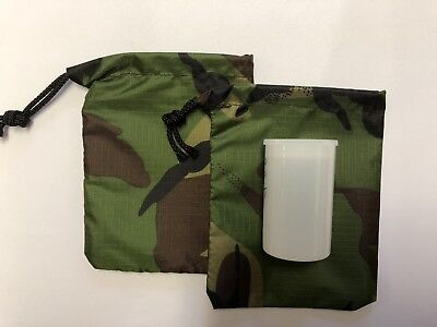 Camo Bag For Micro Geocache - Pack Of 2