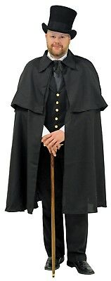 DICKENS CAPE ADULT BLACK christmas caroling  Vampire
