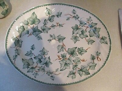 BHS Country Vine 2 Oval Plates 31 x 21 Cm  No Stamp Barrats BHS ?