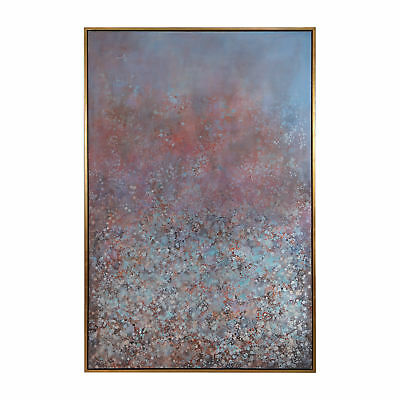 "Oversize Abstract 74"" Modern Droplets Painting 