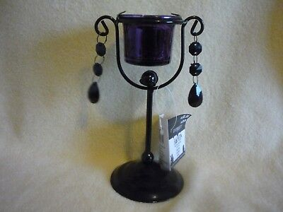 """Candle Holder, Halloween Collection, 7"""" tall"""