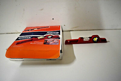 Draper 250mm Boat Level 09715 Red - New - Free Shipping