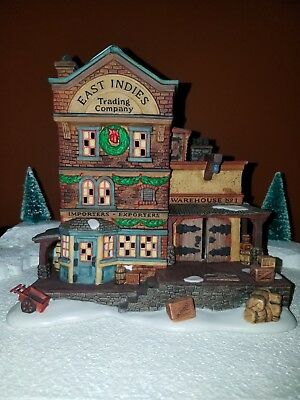 "Department 56 DICKENS Village, ""EAST INDIES TRADING CO"" #58302 with box"