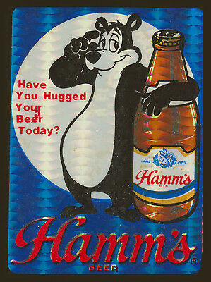 """Hamm's Bear """"have You Hugged Your Beer Today T Shirt Small-Xxxlarge (F)"""