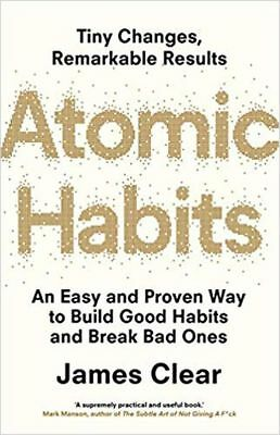 ATOMIC HABITS by JAMES CLEAR (ENGLISH) - BOOK