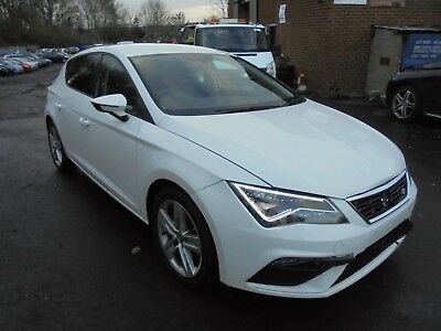 March 2018 Seat Leon Fr Technology Tsi 1.4 Petrol Salvage Damaged Repairable Car