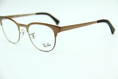 9d37db08cd New Ray-Ban Rb 6317 2836 Brown Authentic Eyeglasses Rb6317 Frame Rx 49-20