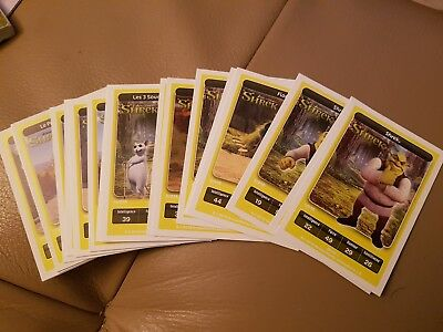 24 Cartes Carrefour DreamWorks - Shrek