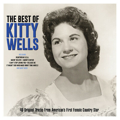 Kitty Wells - The Best Of - Greatest Hits 2CD NEW/SEALED