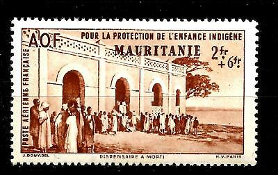 COLONIES FRANÇAISE MAURITANIE 1942  PA  n° 7 neuf ★★ Luxe