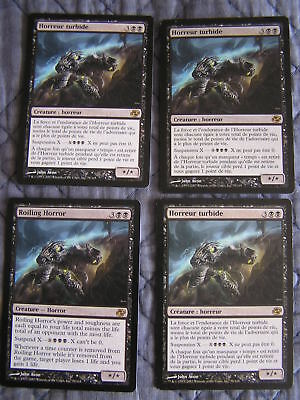 Magic : Horreur Turbide - Roiling Horror x4 - Chaos Planaire - Rare - NM