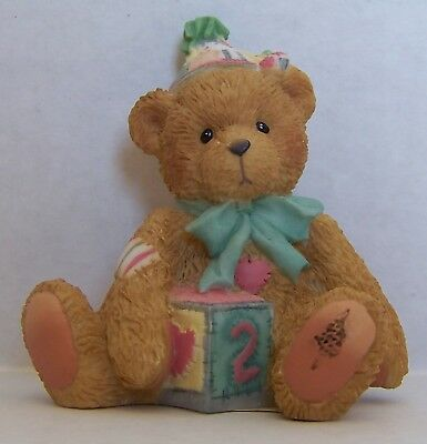 Cherished Teddies  # 911321 'TWO SWEET TO BEAR' New in Box 1998