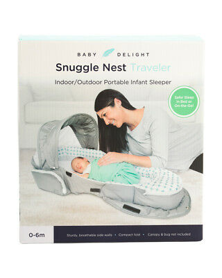 Snuggle Nest Traveler Infant Sleeper Baby Delight