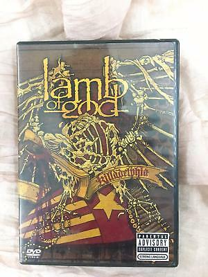 LAMB OF GOD KILLADELPHIA DVD Video Parental Advisory, Explicit Content 2005