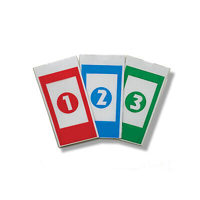 210 Reusable Safe Drop Envelopes (70ea) Red, Blue, Green  for Tidel Tacc II RA