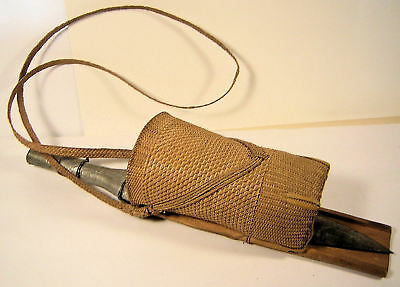 Antique Shan knife.  Shans are an ethnic group in the eastern part of Burma.