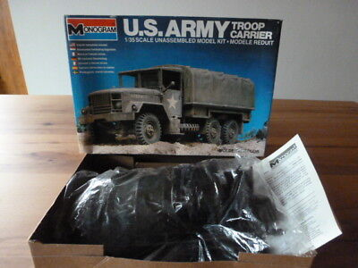 Monogram     U.s.army Troop Carrier                   1:35