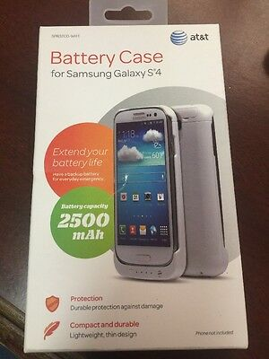 AT&T Battery Case For Samsung Galaxy S4