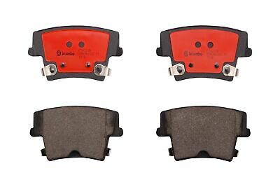 For Dodge Charger SE Pursuit Heavy Duty Rear Brake Pad Set Ceramic Clips Brembo